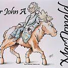 Sir John A. MacDonald (Version 1) by Byron  McBride