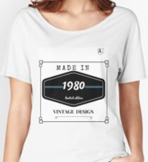 Made 1980 Women's Relaxed Fit T-Shirt