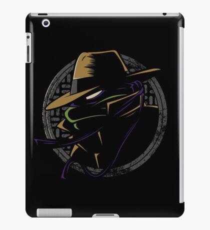 Undercover Ninja Donnie iPad Case/Skin