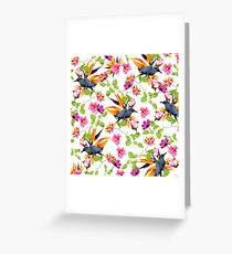 Birds in Nature Greeting Card