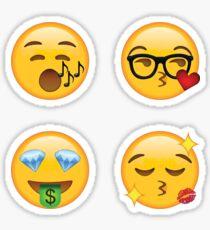 Diva Secret Emoji 4-Pack | funny internet meme Sticker