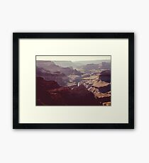 canyon views Framed Print