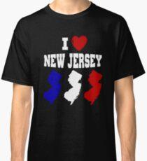 I Love New Jersey NJ T-Shirt For Women and Men Popular Tee Classic T-Shirt