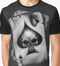Ace of Skulls  Graphic T-Shirt
