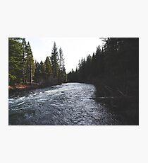 river adventure Photographic Print