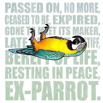 EX - Parrot by funprints