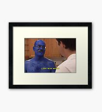 Tobias Funke Blue Himself Framed Print