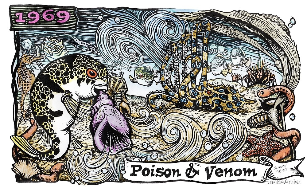 Poison and Venom by SnakeArtist