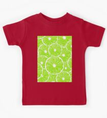 Lime slices pattern Kids Clothes