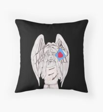 Weeping valentine Throw Pillow