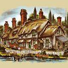 Flaxborough Cottage - An Imaginary Idyll by Rasendyll