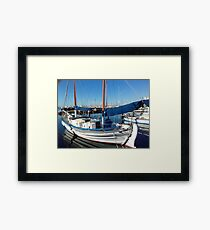Calm After the Storm! Geelong waterfront & Marina, Victoria, Australia.  Framed Print
