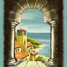 Through the Arch - I by Rasendyll