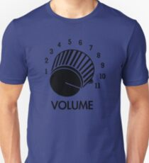 Volume Knob Up To 11 Spinal Tap Inspired Funny Guitar T-Shirt T-Shirt