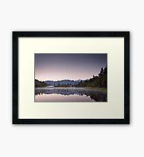 The Mirror Lake Framed Print