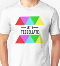 Let's Tessellate Colorful Triangle shirt Unisex T-Shirt