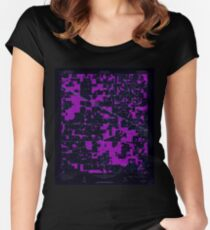 USGS TOPO Map Florida FL Live Oak West 347237 1959 24000 Inverted Women's Fitted Scoop T-Shirt