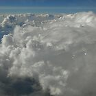 Clouds At 28,000 Feet by Laura Puglia