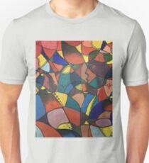 Lost in Colourful Abstract T-Shirt
