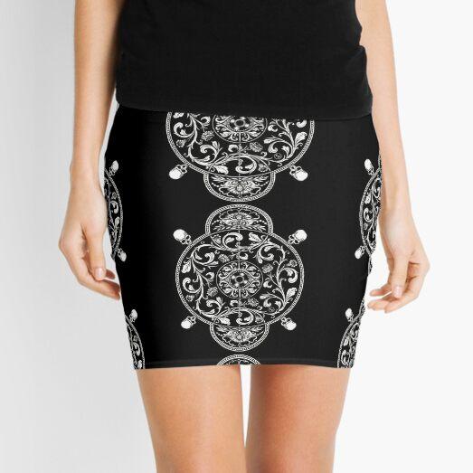 EP. HYPNOTICSKULL II Mini Skirt