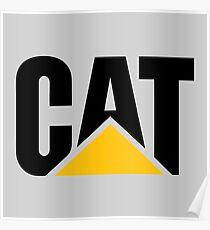 Cartepillar CAT  Poster