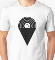 SnowCone Records Logo - Black T-Shirt