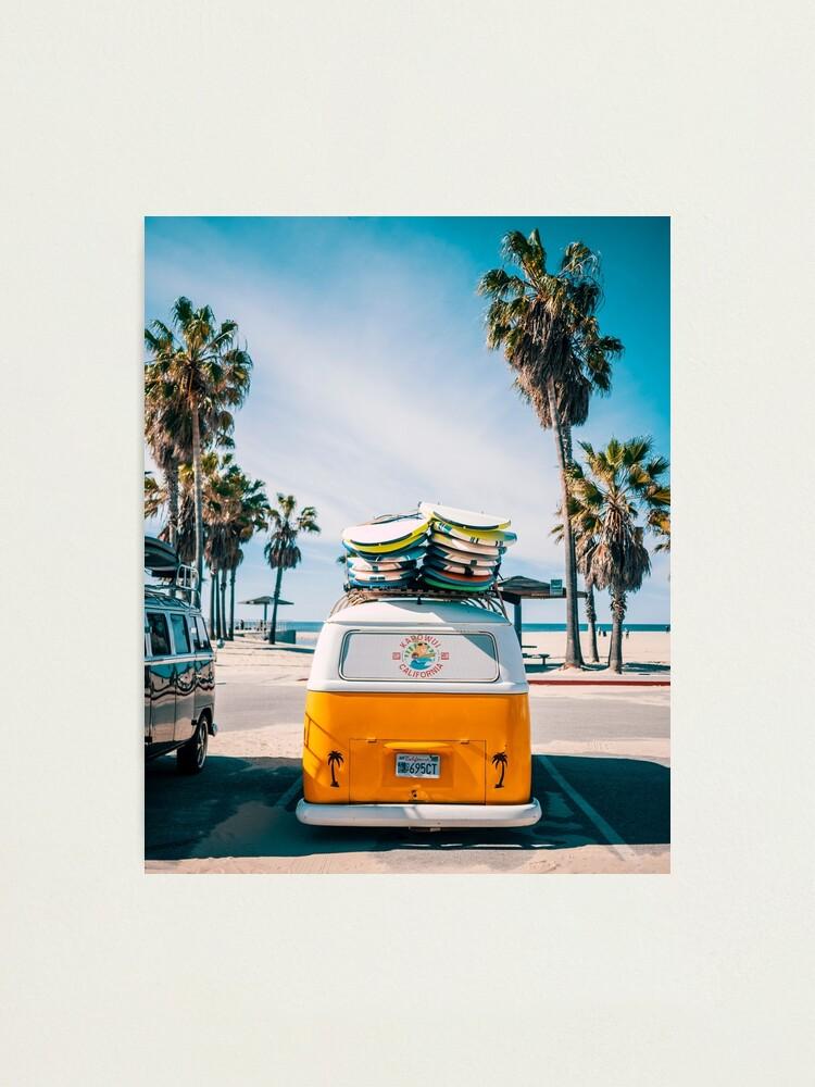 Alternate view of Combi van surf Photographic Print