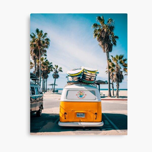 Combi van surf Canvas Print
