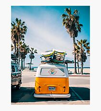 Combi van surf Photographic Print