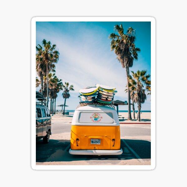 Combi van surf Sticker