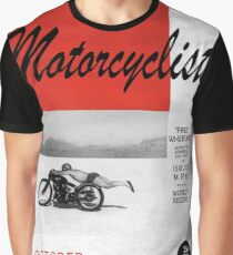 Motorcyclist Magazine - Free Wheeling Graphic T-Shirt