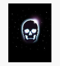 Eclipse Skull Photographic Print