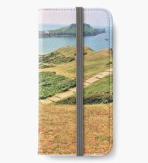 The Gower coast iPhone Wallet