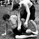 Turkish Oil Wrestling by F.M. Gore-Kelly