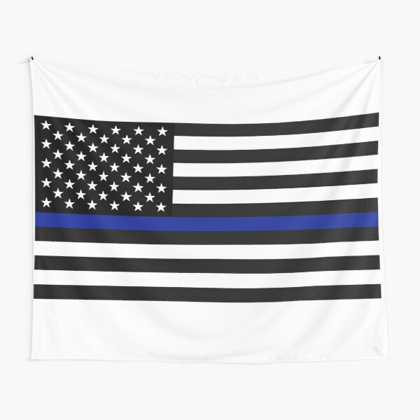 The Thin Blue Line Tapestry