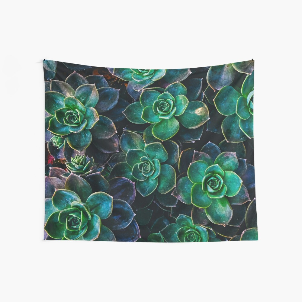 Succulent fantasy Wall Tapestry