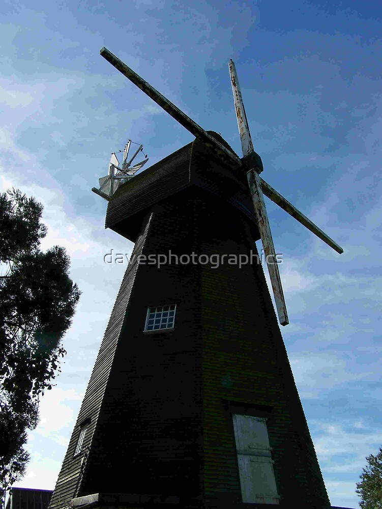 West Kingsdown Windmill by davesphotographics
