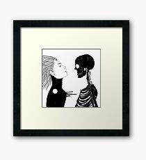 Lost in Existence (Wherever You Are) Framed Print