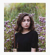 Dodie Clark Flower Photoshoot Photographic Print
