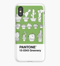 Pantone Greenery iPhone Case