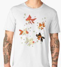 Goldfish Pattern Men's Premium T-Shirt