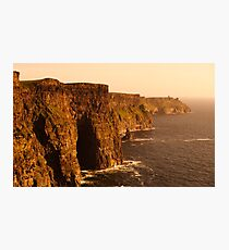 The Cliffs of Moher, County Clare, Ireland Photographic Print