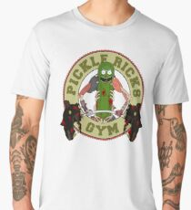 Pickle Rick's Gym Men's Premium T-Shirt