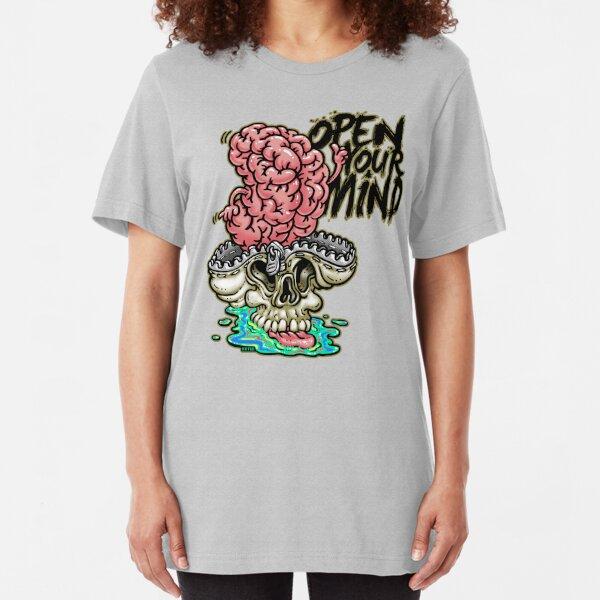 Open your mind Slim Fit T-Shirt