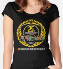 Mazda 787B Women's Fitted Scoop T-Shirt