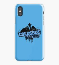 Colossus Canyon iPhone Case