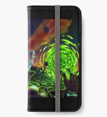 Run | Rick and Morty  iPhone Wallet/Case/Skin