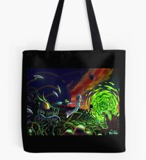 Run | Rick and Morty  Tote Bag