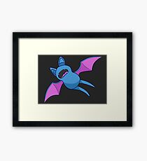 Zubat - Pokemon Framed Print