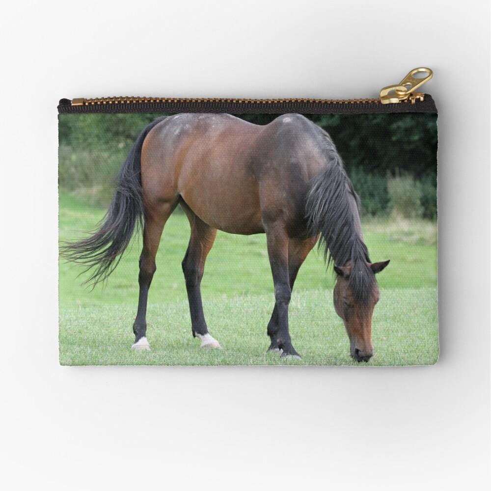 Braunes Pferd Täschchen